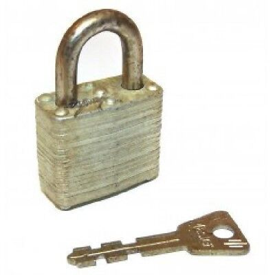 Vintage Miniature Masterlock No. 10 Padlock - Lock Includes Key