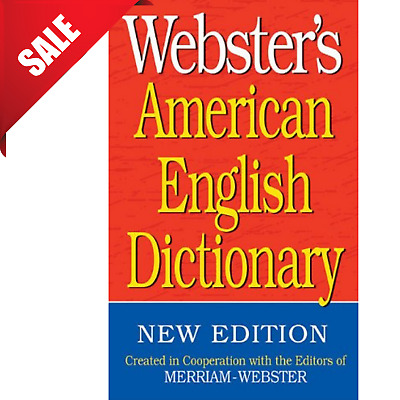 Websters American English Dictionary Paperback Book New Edition By Merriam-Webst