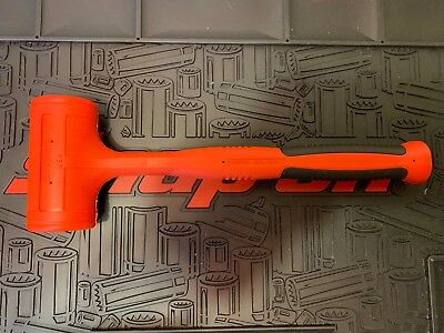 New! Snap-on Red 48oz Deadblow Hammer HBFE48