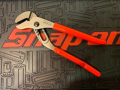"New! Snap-on 12"" Red Adjustable Pliers AWP120"