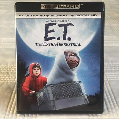E.T. The Extra-Terrestrial - ET - 4K UHD - 4K Disc Only - New but Opened