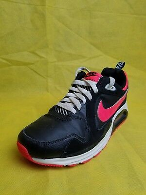 Nike Air Max Trax Black/Hyper Pink-White Grade-School Shoes Youth (
