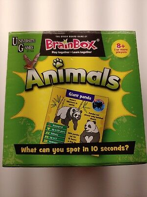 BRAIN BOX THE Green Board Game THE WORLD University Games Learning