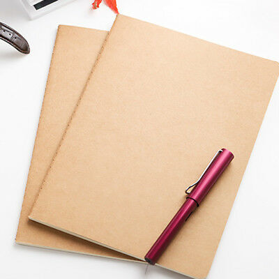 A5 Notebook Journal Student DIY Drawing Notepad Memos Exercises Office Supplies
