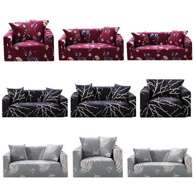 Home Soft Elastic Sofa Cover Easy Stretch Slipcover Protector Couch 1/2/3 Seater