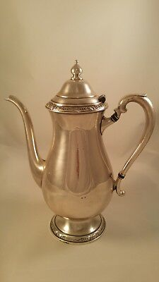 Vintage International Silver Co Camille Silverplate Holloware Coffee Pot #6001