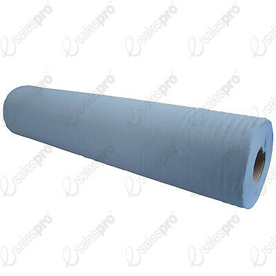 2ply BLUE COUCH ROLLS - PERFORATED - 48cm WIDE - MULTI BUY DISCOUNT DEALS