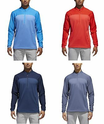 Adidas Go-To Adapt 1/4 Zip Mens Golf Pullover Pick Size & Color