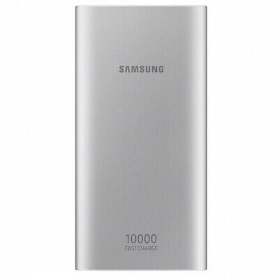Samsung Original Fast Charge Battery Pack USB Power Bank 10000 mAh – Silver