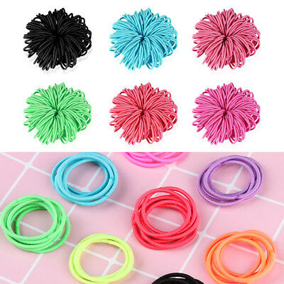 Ties Headdress Rubber Bands Hair Accessories Ponytail Holder Elastic Hair Band