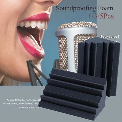 Noise Reducer Acoustic Bass Sponge Sound Absorbing Material Soundproofing Foam
