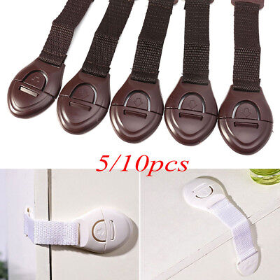 Toilet Kids Cabinet Cupboard Lockstitch Security Latches Wardrobe Safety Lock