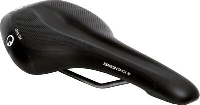 New Ergon SMC4-M Comp Gel Bike Saddle, Bicycle Seat - Medium, Black