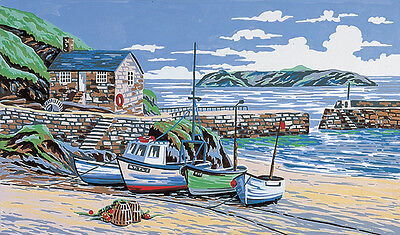 Mullion Cove Cornwall :  Anchor  Tapestry  Kit : KT85K
