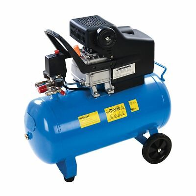 Silverline 357345 50Ltr DIY 2hp Air Compressor 1500W
