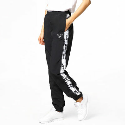 Reebok Women's  LF Woven Track Pants Black BQ3959