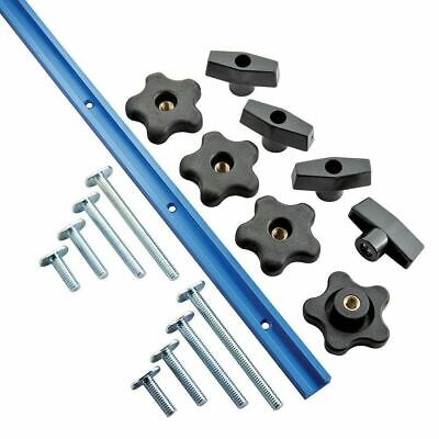 Rockler 679127 1219mm (4') Universal T-Track Set 17pce