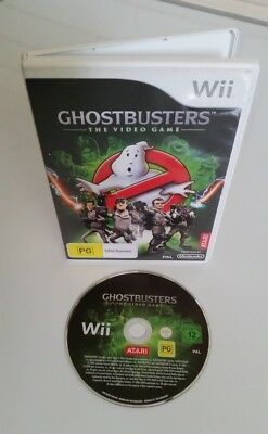 GHOSTBUSTERS: NINTENDO Wii (BRAND NEW CONDITION) missing game manual