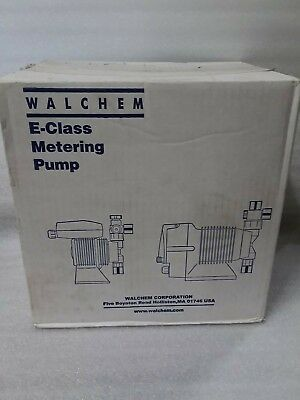 Factory Sealed Walchem EWB31Y1-FC E-Class Metering Pump - 60 day warranty