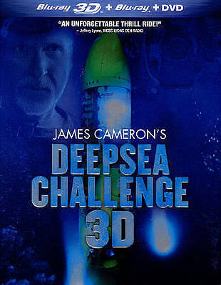 James Cameron's Deepsea Challenge DVD ONLY