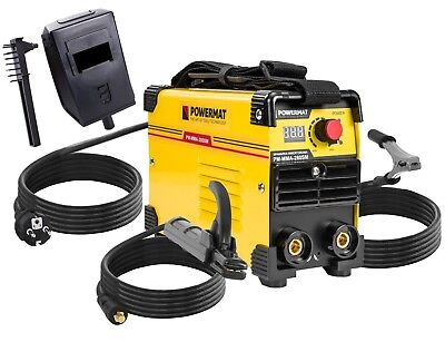 Mma Inverter Welder 280A Igbt Pm-Mma-280Sm Powermat Arc Free Eu Delivery