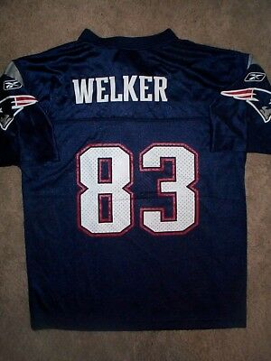 7a9eb8bb WOMEN'S NFL NEW England Patriots # 83 Wes Welker Reebok Small Jersey ...