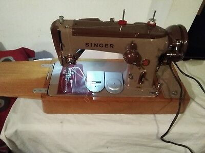 Singer 306K Zigzag Electric Sewing Machine Pat Tested