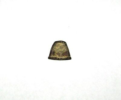 Antique Civil War Soldier's Brass Thimble US Federal Camp Winchester Va.