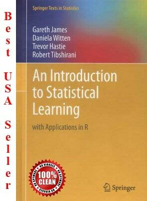 PDF- An Introduction to Statistical Learning with Applications in R -EBOOK PDF