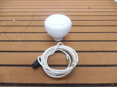 Raymarine Raystar 125 GPS Antenna + 6' Cable - E32042 - Tested 90 Day Warranty
