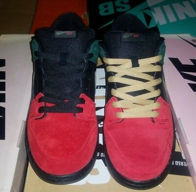 uk availability 7422c cd7a0 Nike Sb Dunk Low Premium Black History Month BHM 2013 deadstock size 12