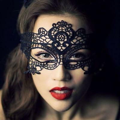 Women's Black Lace Mask Masquerade Ball Sexy Eye Mask Cosplay Party Accessories