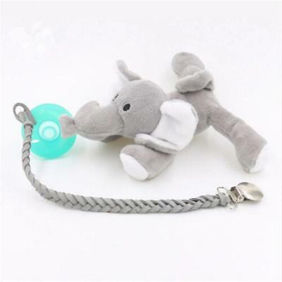 Baby Pacifier Chain Clip Holder Nursing Teether Dummy Soother Nipple Strap MA