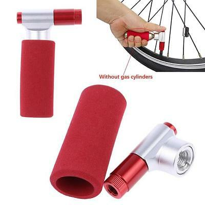CO2 Portable Bicycle Bike Threaded Cartridge Tire Pump Cycling Tyre Inflator MA