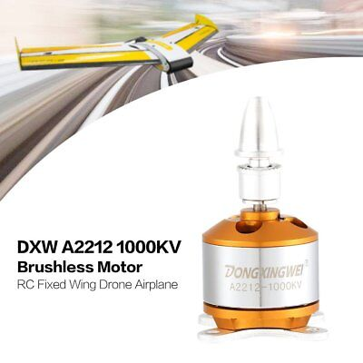 DXW A2212 1000KV 2-4S Outrunner Brushless Motor for RC Fixed Wing Airplane JI