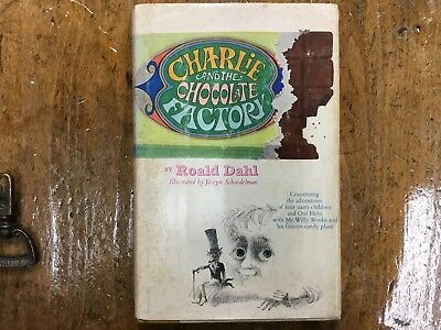 Roald Dahl, Charlie and the Chocolate Factory, 1st ed, 3rd state, 1964.