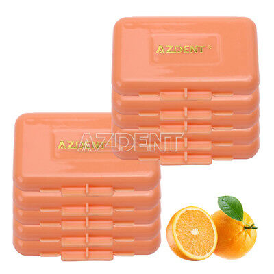 200X Dental Ortho Braces Relief Wax Orange-Orange Scent For Braces Gum AZDENT
