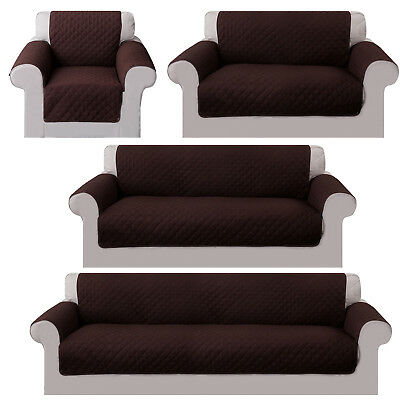 US Sofa cover Reversible Furniture Protector Slipcover Water Resistant Couch Pet