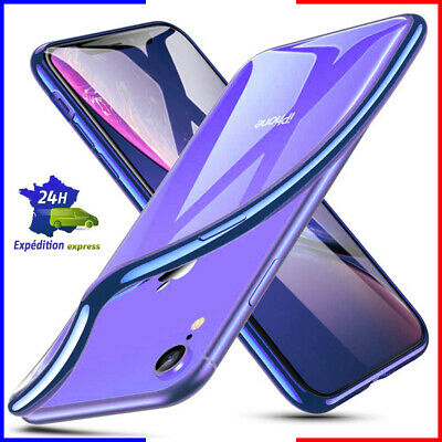Coque tel case housse étui TPU silicone transparent apple iphone 7/7g/7+/7 plus