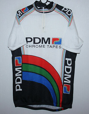 VINTAGE PDM ULTIMA cycling team shirt Size 7 80 s - £14.99  181013aa7