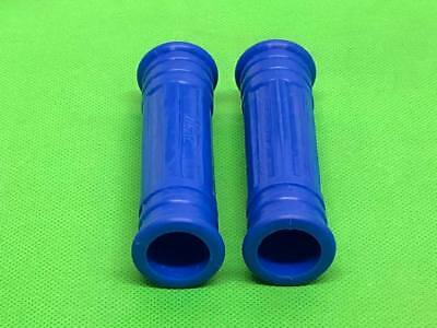 2 x ULMA BLUE PLASTIC FOOTSTEP GRIPS FOR FOOTRESTS VESPA & LAMBRETTA SCOOTERS