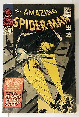The Amazing Spider-Man #30 - Very Clean! Classic Silver Age Marvel