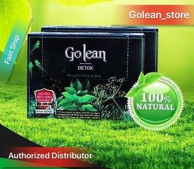 1 Box Golean Herbal Tea- Natural Weight Loss- USA Seller