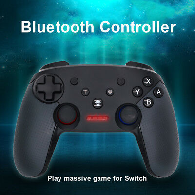Dual Shock Wireless Bluetooth Controller Gamepad For Switch Pro Console New Pour