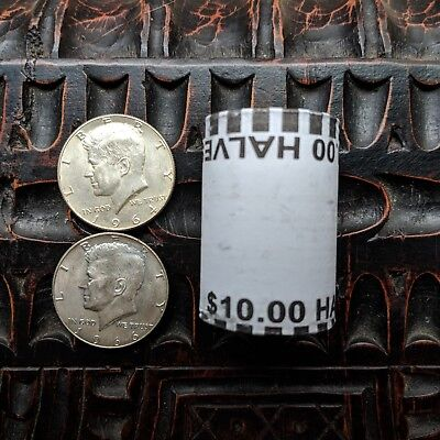 Kennedy Half Dollar Lot - 90% Silver 1964 Year, 40% Coin, Unsearched Bank Roll