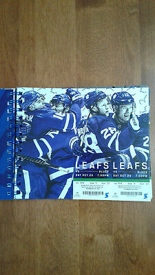 Toronto Maple Leafs Ticket Stubs 2018 - 2019 - Every Game Scotia Bank Arena