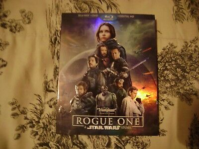 Rogue One: A Star Wars Story Blu-Ray + DVD No Digital Code