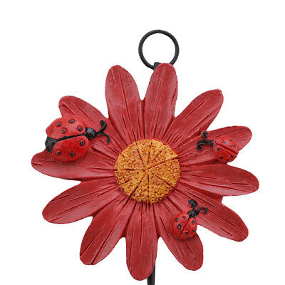 Kitchen Bathroom Resin Flower Hook Door Wall Mount Hanger For Clothing Coat MA