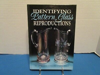 Book on Identifying Pattern Glass Reproductions by B. Jenks, J. Luna & D. Ridley