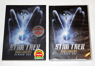 NEW STAR TREK DISCOVERY Season One S1 4-Disc DVD Set with Slipcover FIRST SEASON